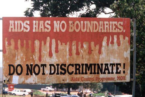 Campagne d'information sur le sida en Ouganda