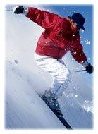 L'échauffement avant le ski